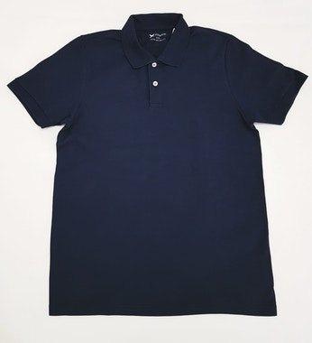 Camiseta Polo Clássica Azul - Marca: Hering
