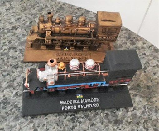Miniatura  Replica da Locomotiva Maria Fumaça