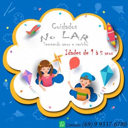 Cuidadora de Crianças ( creche em casa )