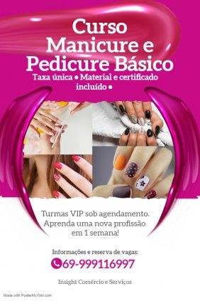 Curso Manicure e Pedicure Básico