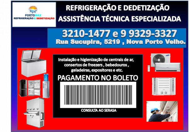 REFORMAS E CONSERTO DE GELADEIRAS