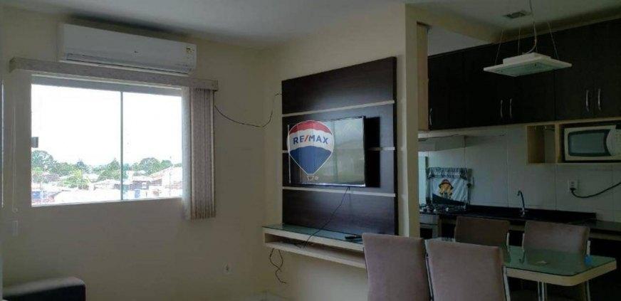Apartamento 100% mobilhado com 2 dormitórios