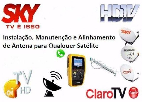 Técnico em Instalação Antenas Via satélite e Parabolicas